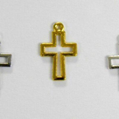 Μεταλλικός σταυρός 13mm 100 τεμάχια