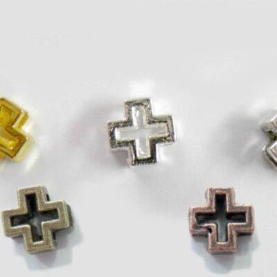 Μεταλλικός σταυρός διάτρητος 25 τεμάχια