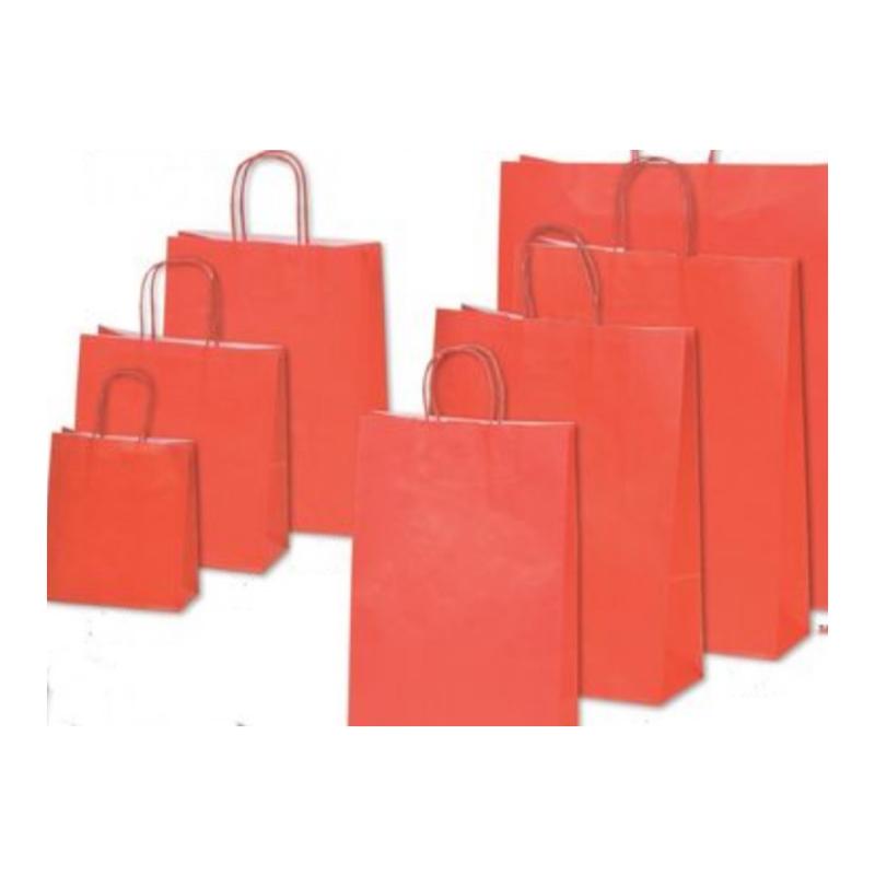 Χάρτινη τσάντα κόκκινη