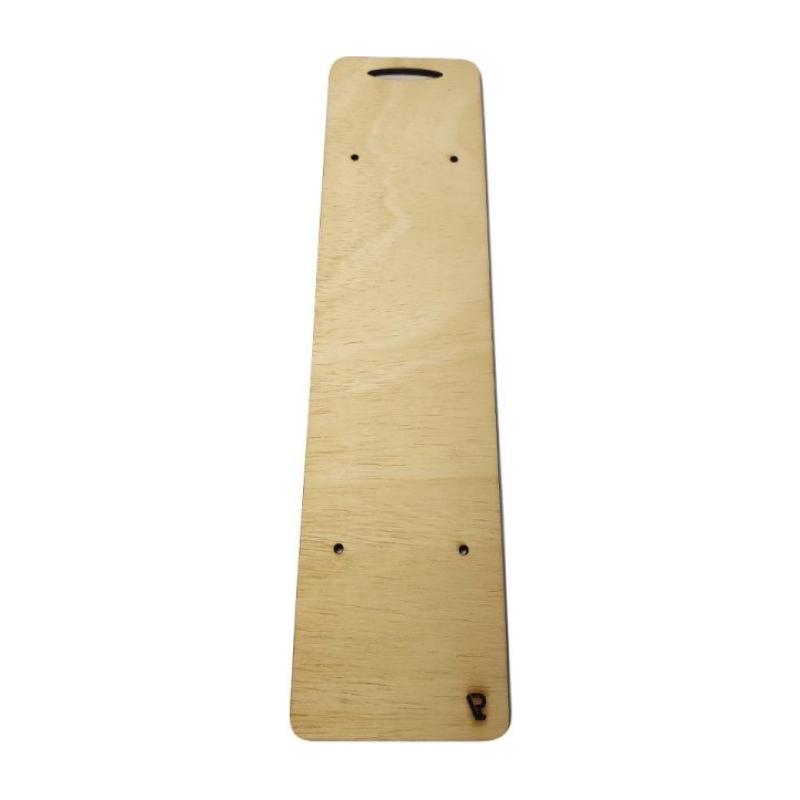 ξύλινη βάση για λαμπάδα