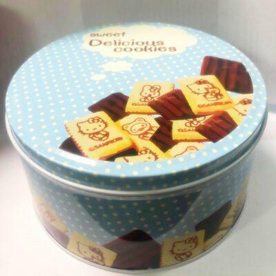 μεταλλικό κουτί για μπισκότα