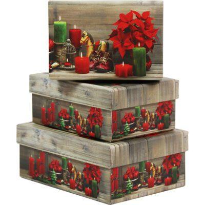Χριστουγεννιάτικες τσάντες /κουτιά