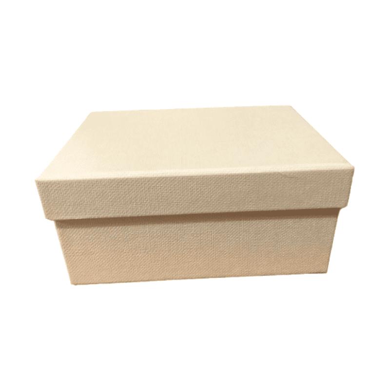 κουτί δώρου εκρού