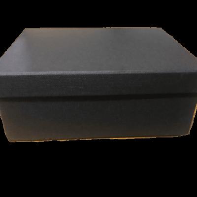 κουτί δώρου μαύρο