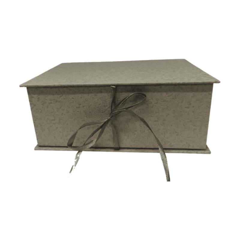 κουτί δώρου γκρι